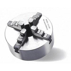 Keturžiaunis spaustuvas tekin Ø 200 mm Camlock DIN ISO 702-2, Optimum