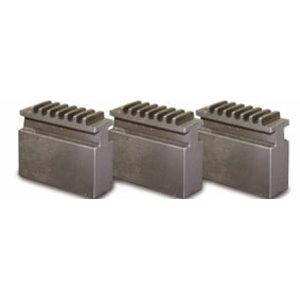Soft block jaw set for CI3P ø 315 mm Camlock, Optimum
