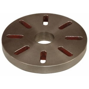 Face plate Ø 450 mm Camlock DIN ISO 702-2 No. 8