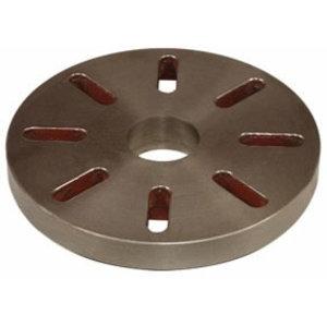 Face plate Ø 450 mm Camlock DIN ISO 702-2 No. 8, Optimum