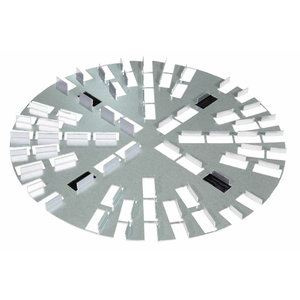 Paviršių lyginimo diskas Ø 350 mm velcro, Rokamat