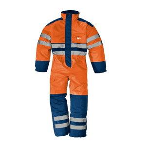 Talve kombinesoon Rowaniemi kõrgnähtav CL2, oranz/sinine, Sir Safety System