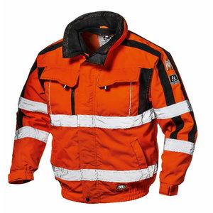 Kõrgnähtav talvejope 4-1-s Contender, oranž, M, Sir Safety System
