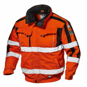 Hi. vis winterjacket 4 in 1 Contender, orange, S, , Sir Safety System