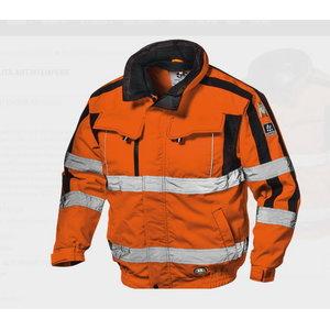 Kõrgnähtav talvejope 4-1-s Contender, oranž, S, Sir Safety System