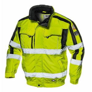Kõrgnähtav talvejope 4-1-s Contender, kollane, M, Sir Safety System