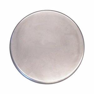 Glaistymo diskas nerūdijančio plieno Ø 215 mm glotnus velcro, Rokamat