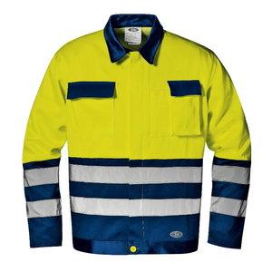 Jakk Mistral kõrgnähtav CL2, kollane/sinine 50, Sir Safety System