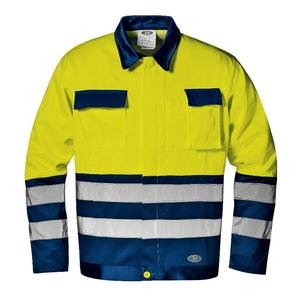 Jakk Mistral kõrgnähtav CL2, kollane/sinine, Sir Safety System