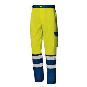 Tööpüksid Mistral kõrgnähtav CL2 kollane/tumesinine, Sir Safety System