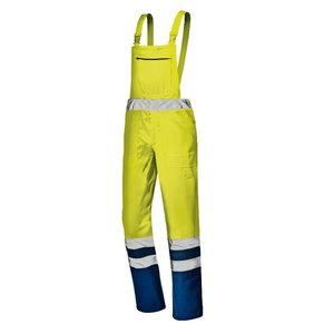 Puskombinezons MISTRAL, dzeltens/zils, 52, Sir Safety System