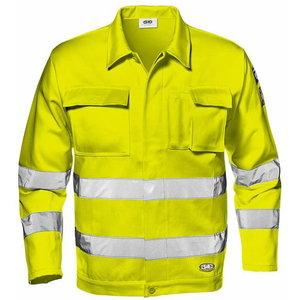 Kõrgnähtav jakk Velvet, kollane, 52, Sir Safety System