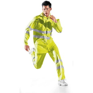 Vihmapüksid Glamour, kollased, M, Sir Safety System