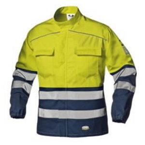 Keevitaja jakk multi Supertech kõrgnähtav CL3, kollane/sinin, Sir Safety System