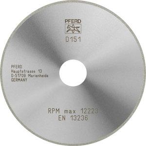 Teemantketas 125x1,4/20mm D151 GAG D1A1R, Pferd