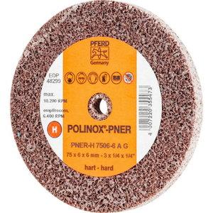 Neaustinis šlif. diskas 75x6x6mm A G PNER-H POLINOX, Pferd