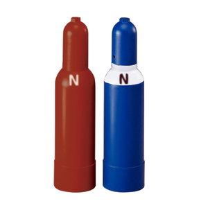Oxygen Steel cylinder, 2l, filled, Rothenberger