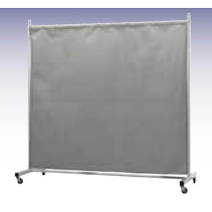 Weld.screen with Atlas curtain W215cm,H210cm, single Robusto, Cepro International BV