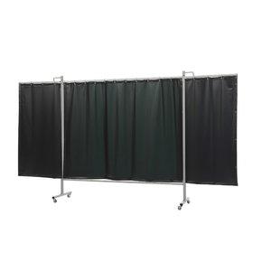 Welding screen w.curtain,green9 200x375(W)cm OmniumTriptych, Cepro International BV