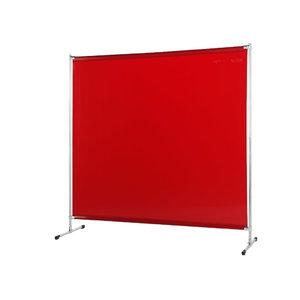 Welding screen w.curtain, orange Gazelle 200x200(W)cm, Cepro International BV