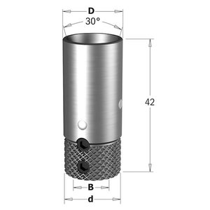 DRILL HOLDER VITAP (APA70) D=10X16 LT=42 RH/LH, CMT