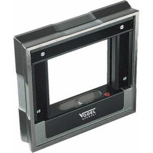 Inspection Frame Spirit Level DIN 877, 200 x 200 x 40 mm, Vögel