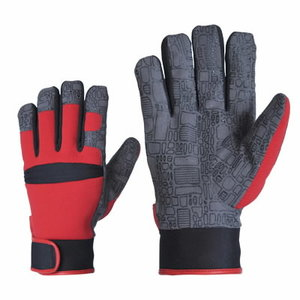Synthetic fleece lining AMARA Gloves LEATHER