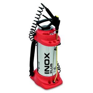 Пневматический распылитель, INOX PLUS 10Л, с насосом, MESTO