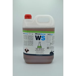 Degreaser/liquid for stainless steel WS 3616 G 30kg, Whale Spray