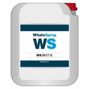 High concentration degreaser/gel for aluminium WS 3617G 30kg, Whale Spray