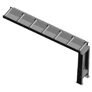 Roller conveyor 2000x290mm, Metallkraft