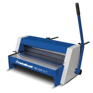 Manual guillotine TBS 650-12 T, Metallkraft