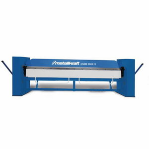 Manual folding machine HSBM 3020-12, Metallkraft