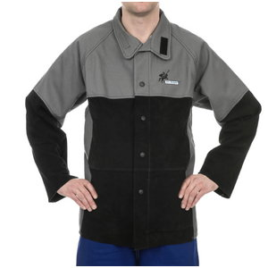 Welding jacket, heavy duty 520 gr./m2 flame retardant 2XL, Weldas
