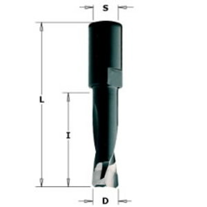 Sõrmfrees 6x28x49 S=M6x0,75 Z2 HM DOMINO®-FESTOOL®, CMT