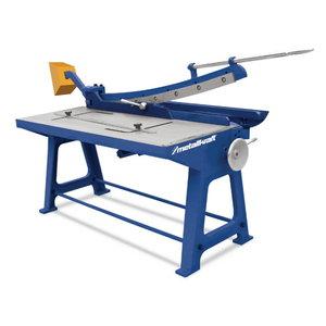 Manual guillotine, Metallkraft