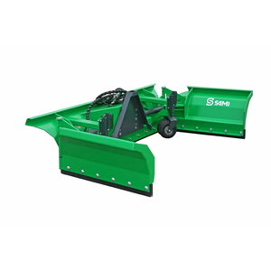 Artificial turf plough TSP4000 for 3P linkage, Kubota