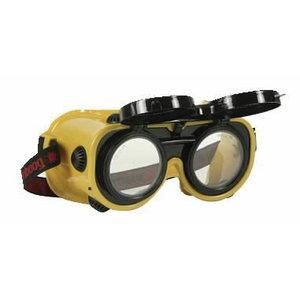Suvirinimo/pjovimo akiniai Flippo 4 tamsumas DIN5 (110230), VLAMBOOG