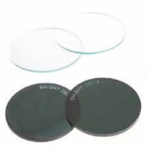 Spare lens for Flippo DIN5  (round 50 mm, green), VLAMBOOG