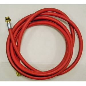 HP service hose - red, Texa