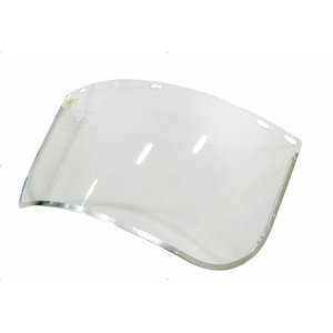 Face shield, polycarbonate, metal border, Sir Safety System