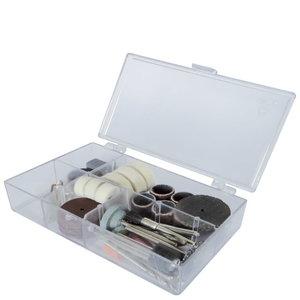 64 parts in wooden case. Deco-flex, Scheppach