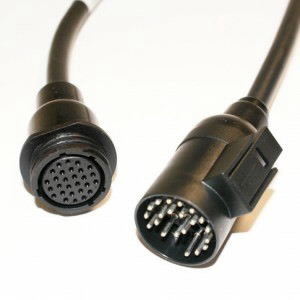 IVECO 30 pin cable for vehicles Euro2/3 (3151/T02B), Texa