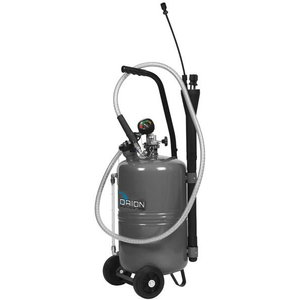 24L waste oil suction unit, grey, Orion