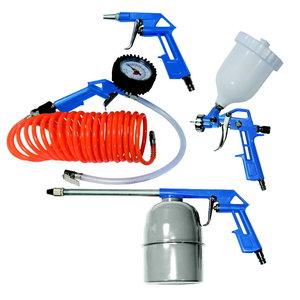 Compressor accessory set 5 piece, Scheppach