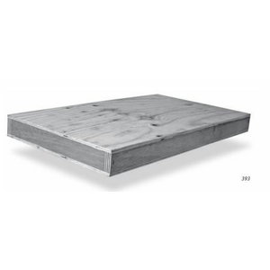 Wooden box for squares 2000x1080mm, Scala