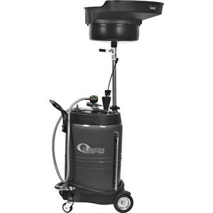 100l waste oil suction collector, gray, Orion
