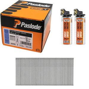 Liistunael IM50F18 NGP 38X1,2 ZN 2000tk+2gaasi, Paslode