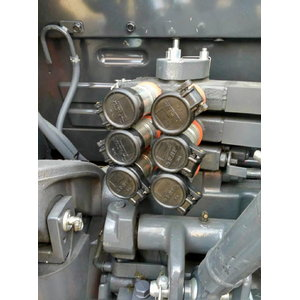 3rd pair rear auxiliary valves SCD for M5001 series, Kubota