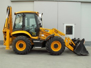 Backhoe loader  3CX-4WS, JCB